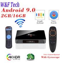X96 PRO TV Box Android 9.0 Amlgoic S905W 2GB 16GB 4K IPTV Sm