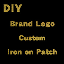 Custom Brand Logo Code 281-320 Hot Brand Pattern On Clothes Applique Decor Heat Transfer PVC Patch Letter Stickers