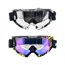 Набор из 2 снежных очков для катания на лыжах, мотогонок, езды на велосипеде, сноуборде и различных видов спорта на открытом воздухе
