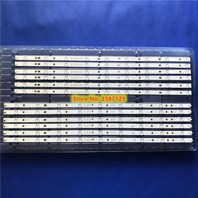"""36pcs LED Backlight strip 9+9 lamp For VIZIO 70"""" TV LB70006 E70-E3 LFTRVRCT LFTRVRAS E465853 E70-E3 SE70 UHD V1_00 Left & Right"""
