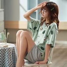 Jodimitty kadın pijama pijama kadın pamuklu pijama kadın pijama kız pijama ev giysileri kadınlar için