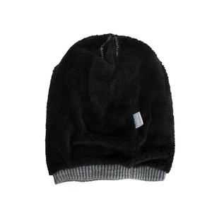 Image 4 - TOHUIYAN Crochet Beanie Hat For Men Slouchy Autumn Winter Hats Fashion Skull Knitted Cap Hip Hop Thick Warm Caps Baggy Women Hat