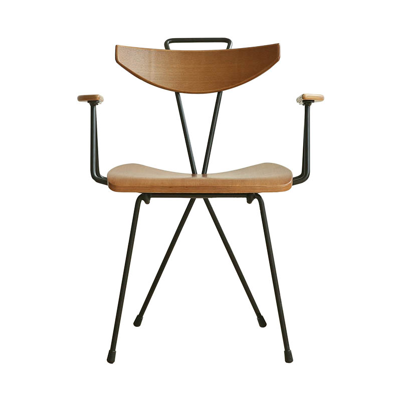 Ins Chair Modern Simple Iron Art Northern Europe Creative Restaurant Leisure Back  Adult Home Designer Dining