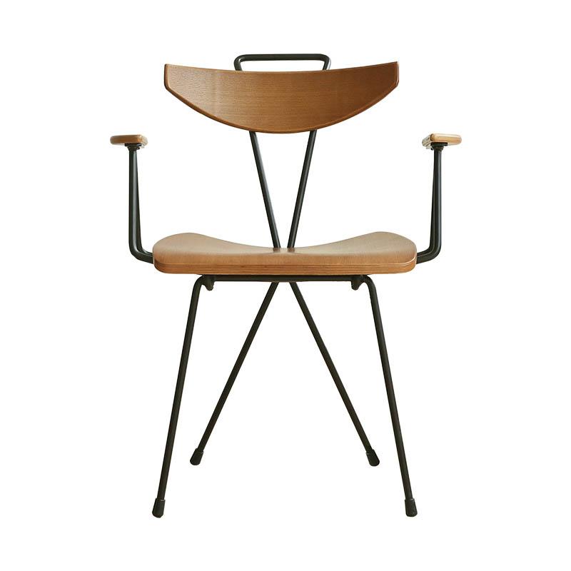 Ins Chair Modern Simple Iron Art Northern Europe Creative Restaurant Leisure Back  Adult Home Designer Dining