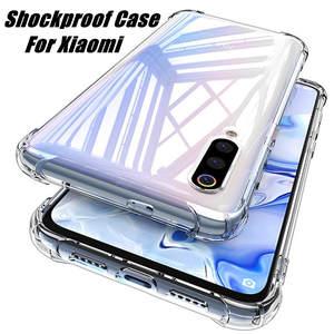 For Xiaomi Mi 10 Note 10 CC9 CC9E 9 9T A3 A2 8 Lite Case Soft Shockproof Cases For Redmi K30 K20 8A 7A 6 Note 8T 8 7 5 Pro Cover