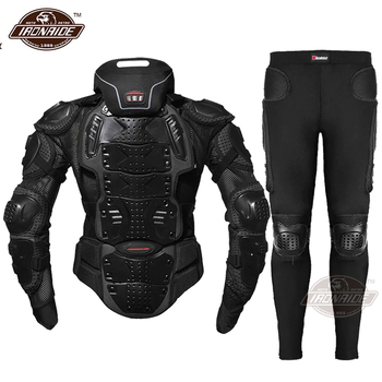 HEROBIKER Motorcycle Jacket Men Body Armor Moto Motocross Racing Riding Motorbike Protection  S-5XL