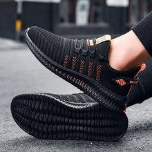 Zapatillas deportivas gruesas para hombre y mujer, zapatos informales de malla vulcanizada, ligeras, Tenis