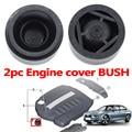 2 шт. крышка двигателя для BMW, Возраст 1, 2, 3, 4, 5, 6, 7, серия X1 X3 X4 X5 X6 E81 E87 F20 E90 F30 F10 G30 E83 F25 G05 F15 резиновая втулка для крепления