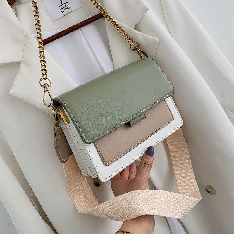 Sacs à Main de luxe femmes sacs concepteur 2019 nouveaux sacs à Main en cuir synthétique polyuréthane et sacs à Main chaîne sacs à bandoulière pour femmes Sac A Main Femme