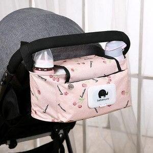 Sac de poussette pour bébé | Sac de poussette pour maman sacs à couches de voyage sac de rangement de bouteille d'eau, sac à couches soins, organisateur sac à couches