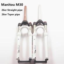 """Manitou M30 26er 2"""" Вилка коническая прямая 100*9 велосипед MTB ручная вилка велосипед Suntour аксессуары"""