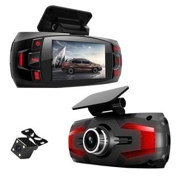 "1080P Full Hd 2.7"" Lcd Driving Recorder 170 Degree Car Dvr Dashboard Camera Dual Lens Sprint Camera with Rear Camera"