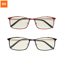 Original Xiaomi Mijia Anti blue rays Glasses TR90 Metal Plastic Mixed Material Eye Protector For Man Woman xiaomi goggles