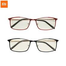Original xiaomi Mijia Anti rayons bleus lunettes TR90 métal plastique matériau mixte protecteur des yeux pour homme femme xiaomi lunettes