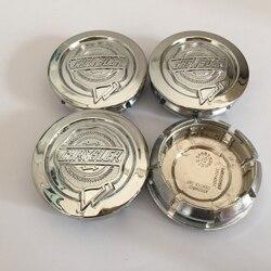 4 pçs 54mm 64mm chrysler 300c carro emblema roda centro hub tampas emblema cobre acessórios de estilo do carro