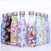 500ml Water Bottle Stainless Steel Sport Direct Drinking Thermos cup Outdoor Cup Drinkware National Style