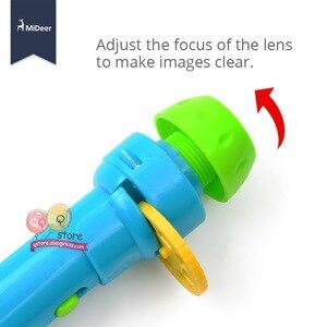 Image 4 - Mideer Mini proyector linterna para niños, juguetes educativos iluminados para niños, desarrolla el juego, cuentos de dormir, juego de actuación, regalo para niños