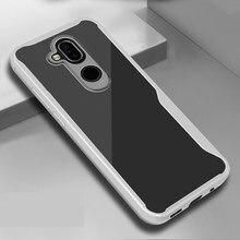 Caso Quadro fosco Para Nokia 1 2 8 7 6.1 3.1 7.1 8.1 Mais 5.1 3.2 4.2 2.2 6.2 7.2 X6 X7 X71 X3 Caso De Silicone Antiderrapante Tampa Funda
