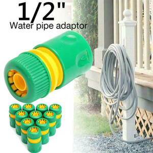 """Image 4 - 1/3/10pcs 5/8"""" 1/2"""" 3/4"""" Barbed Irrigation Hose Connector Quick Tap Water Adapter Fast Coupling Adapter Drip Tape Garden Tool"""