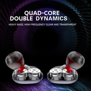 Image 2 - Беспроводные наушники X9, наушники с двумя динамическими басами