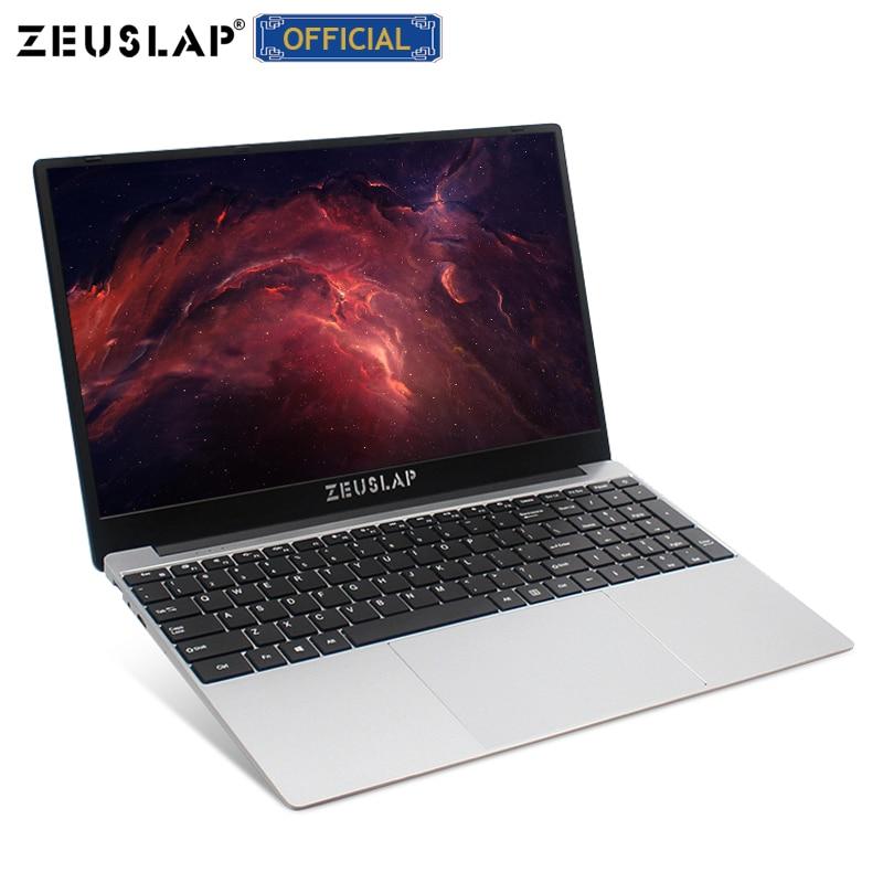 Ordinateur portable de jeu de processeur de i7-4th génération de 15.6 pouces zeuslam 8GB RAM jusqu'à 1 to SSD Win10 double bande WIFI 1920*1080P FHD ordinateur portable