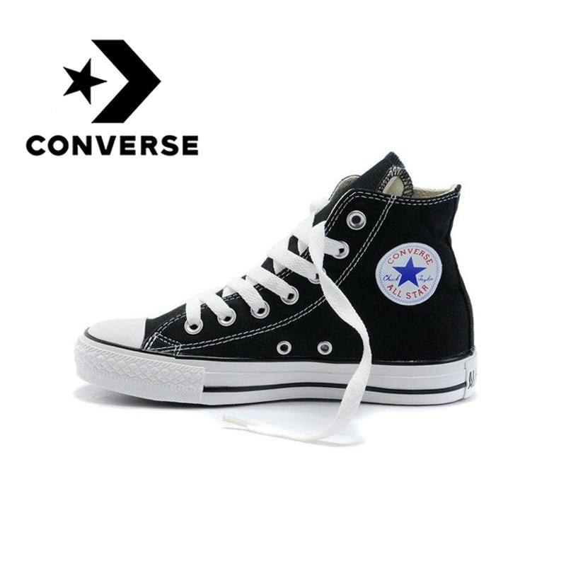 Dedicar compilar Informar  Mega Discount #2ccea2 - Converse All-star Men's Skateboard Shoes Classic  Women's Sneakers Canvas High-top Comfortable Durable Unisex Footwear 101010  | Cicig.co