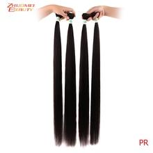8-30inch 32 34 36inch 38 40inch Straight Human Hair Peruvian
