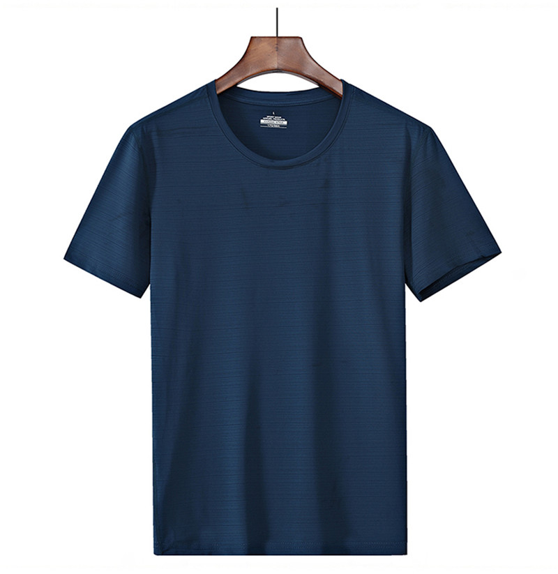 Plus size 6XL, 7XL, <font><b>8XL</b></font> <font><b>t</b></font> <font><b>shirt</b></font> men solid color fashion casual breathable <font><b>t</b></font> <font><b>shirt</b></font> summer short sleeve men's brand Tops & Tees image