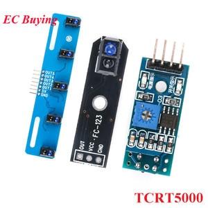 TCRT5000 TCRT5000L светоотражающий ИК инфракрасный оптический датчик Фотоэлектрические переключатели Трековый Датчик Модуль для отслеживания авт. . .