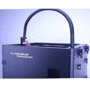 Image 5 - Nieuwe Versie Flyingbear Tornado 2 Pro Grote 3d Printer Diy Volledig Metalen Lineaire Rail 3d Printer Kit Precisie Dubbele Extruder