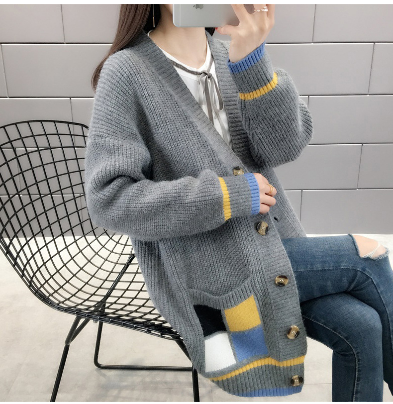 Very Fairy Sweater Cardigan 2019 Spring New Style Korean-style Early Spring Net Red Knitted Jacket Women's Spring And Autumn Out