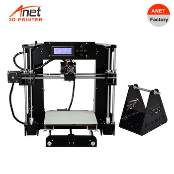 Anet A6L Automatic Leveling High Precision 3D Printer Reprap i3 DIY Impresora 3D Kit  Micro SD Card  3D Printer