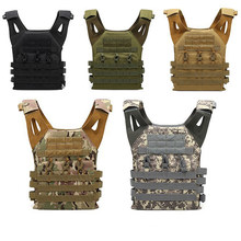 Tactical Army Combat Vest JPC Outdoor Wargame Paintball Protective Plate Carrier Waistcoat Airsoft Vest Hunting Clothing Gear(China)