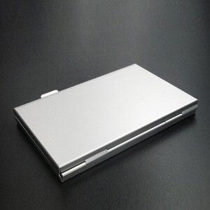 Image 4 - 高品質ポータブルアルミマイクロマイクロ sd tf カード 24 スロットメモリカード収納ケースプロテクターホルダーカードアクセサリー