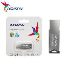 Orijinal ADATA USB Flash sürücü UV350 128GB 64GB 32GB kalem sürücü USB 3.2 Pendrive Metal Flash sürücü yüksek hızlı U Disk bilgisayar için