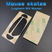 1 pçs 3m mouse patins almofadas para logitech mx mestre 2s 3 gaming mouse 0.6mm substituição mouse pé glide pés adesivo