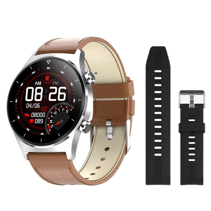 H594b55c7554843948da4b09070fcc29a4 E1-3 Smart Watch Men 1.28 inch Full Touch Screen IP68 Waterproof Bluetooth 5.0 Sports Fitness Tracker Smartwatch For Android IOS