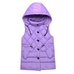 Image 4 - Vest for Kids Girl Autumn Winter Girls Casual Vest Jacket Baby Girls Boys Parkas Vest Coats Children Clothes Jacket Kids Vests