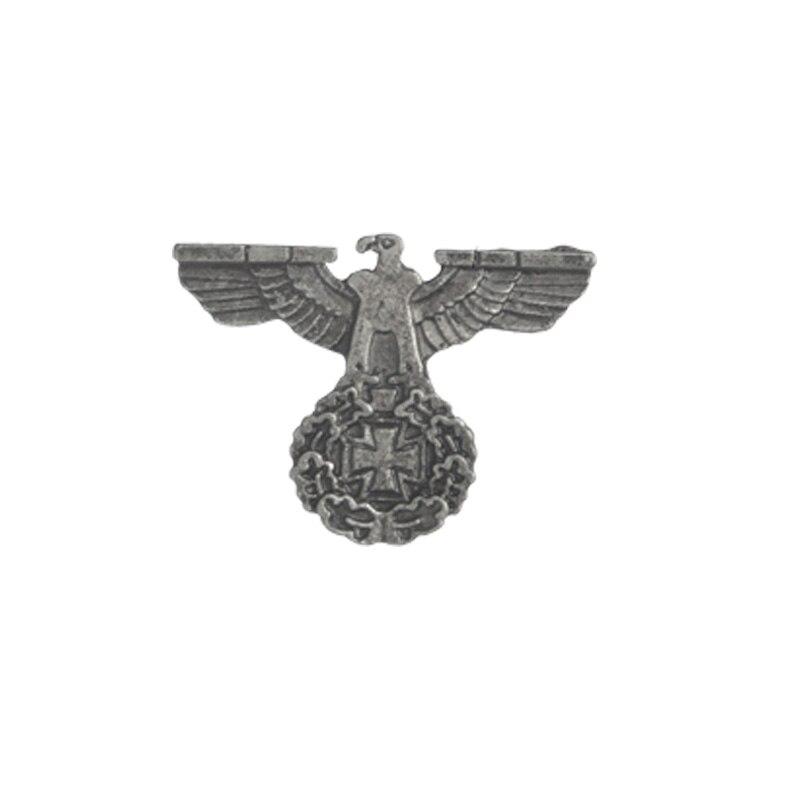 Немецкая военно-морская армия, военно-воздушные силы, булавка, танк, Воздушный самолет, линкор, эмалированные броши для одежды, сумки, орла, нагрудные значки, Винтажные Ювелирные изделия, подарок - Окраска металла: Vintage Eagle