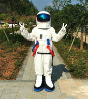 Cosplay Party Spaceman Mascot costume Astronaut mascot costume Halloween Christmas Outdoor Party Adult Size Outfit