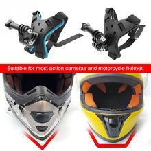 Helmet Camera-Accessories Chin-Bracket-Holder Front Hero 8 1PC Stand Full-Face