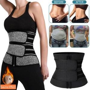Image 1 - Ceintures fourreau amincissantes pour femmes, gaine pour le ventre, réduisant le ventre, modelant le corps, Corset Sauna, entraînement