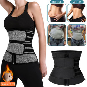Image 1 - Waist Trainer Women Slimming Sheath Tummy Reducing Shapewear Belly Shapers Sweat Body Shaper Sauna Corset Workout Trimmer Belts