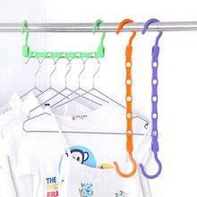 Многофункциональная пятидырочная ветрозащитная противоскользящая Волшебная вешалка для гардероба разделительная воздушная сухая одежда вешалка для хранения вешалок оптом