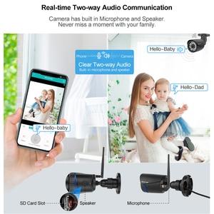 Image 4 - H.265 ワイヤレス ip カメラ双方向オーディオ 1080 2MP wifi カメラ onvif 赤外線ナイトビジョン防水 tf カード cctv ビデオ監視