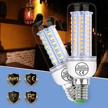 E27 220V LED Lamp 240V Lampada E14 Corn LED Bulb 3W 5W 7W 9W 12W Chandelier Candle Lighting 30 36 48 56 69leds Light Bulb 2835 10x e27 led lamp 220v 5w 7w 9w warm cool white led corn led lamps lampada chandelier crystal candle lighting home decoration
