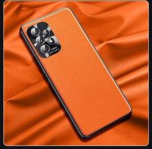 Dành Cho Samsung Galaxy Samsung Galaxy A52 A72 Ốp Lưng Sang Trọng Thuần Chay Da Hạt Matte Bảo Vệ Mặt Sau Dành Cho Samsung A32 4G 5G Điện Thoại Vỏ