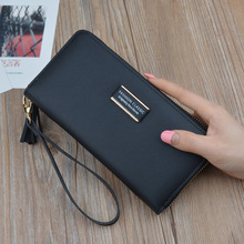 New Fashion Classic Long Wallet Women Tassel Pendant Purse Multifunctional Female Handy Bags Coin Pocket Cash Card Holder.