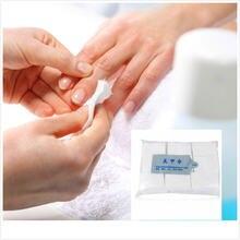1000 шт средство для удаления лака ногтей салфетки маникюра