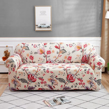 Elastic Sofa Covers for Living Room Stretch Couch Cover Floral Sectional Sofa Slipcover All-inclusive Non-slip Armchair Cover